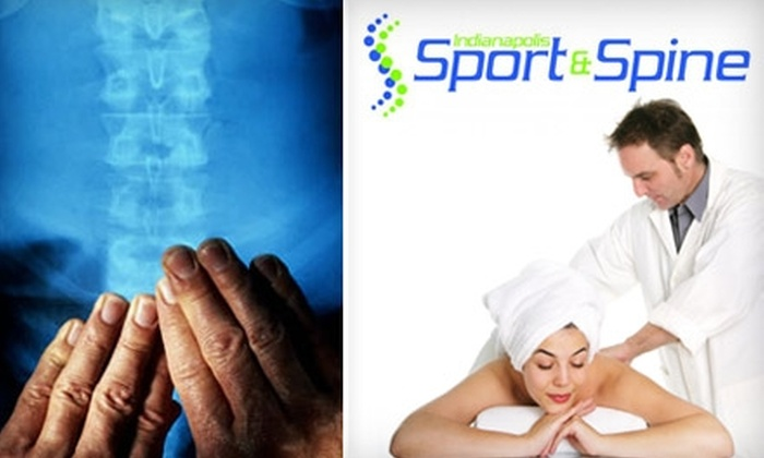 Indianapolis Sport and Spine - Brownsburg: $25 for a Chiropractic Exam, Consultation, and Treatment at Indianapolis Sport and Spine in Brownsburg (Up to $195 Value)