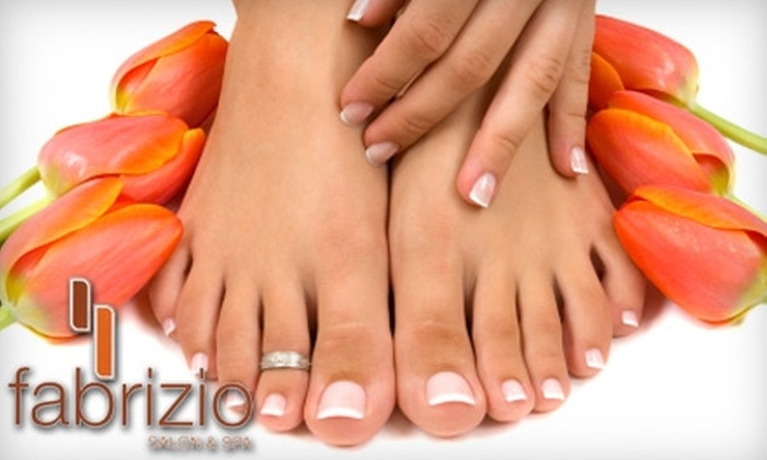 Fabrizio Salon & Spa - Wilmington: $35 for a Mani-Pedi Package at Fabrizio Salon & Spa ($70 Value)