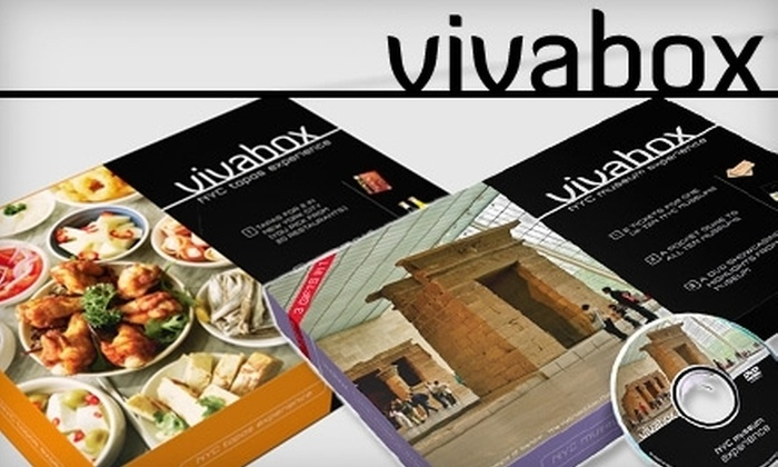 Vivabox: Experiential Packages from Vivabox. Choose Between Two Options.