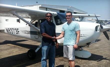90-Minute Flight Lesson (a $200 value) - Genesis Flight Academy in Georgetown