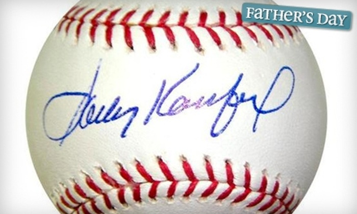 Palm Beach Autographs - Frenchmans Reserve: $25 for $50 Worth of Sports Memorabilia and Custom Framing at Palm Beach Autographs