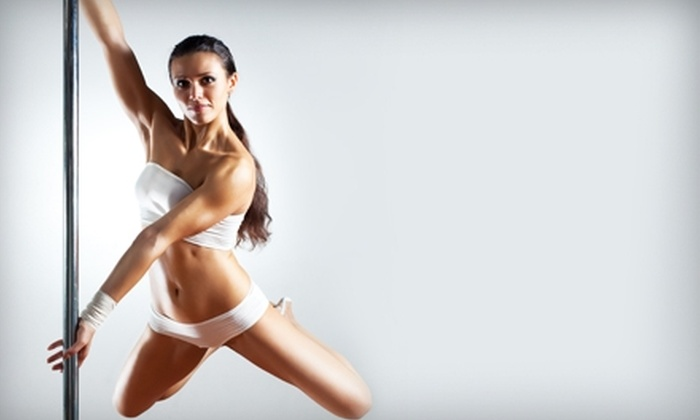Dance With Me!  - Herndon: $42 for Four Weeks of Sensuous Expressions Pole-Dancing Classes at Dance With Me! in Herndon