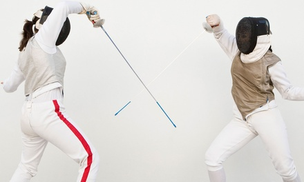 $19 for a TwoHour Introductory Fencing Class for Two at Iowa City Fencing Center ($50 Value)