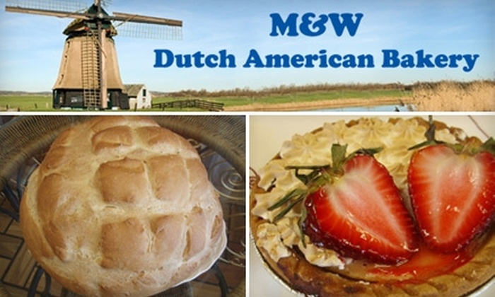 M&W Dutch American Bakery - Pacific: $8 for $16 Worth of Cakes, Pastries, and More at M&W Dutch American Bakery