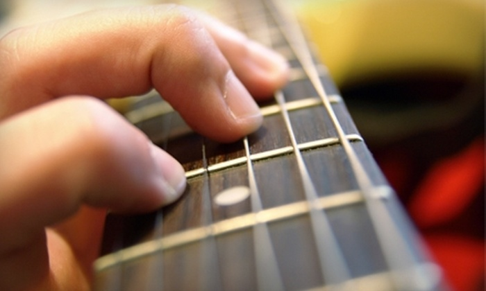 The Rhythm Factory - Meridian: $50 for a Month of Guitar Lessons at The Rhythm Factory ($125 Value)