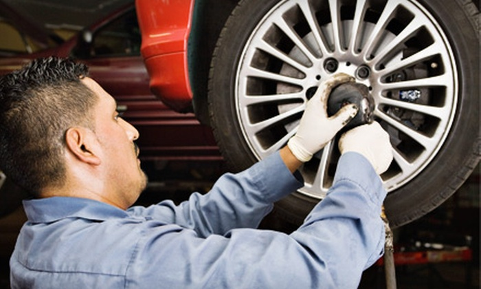 American Tire Company - Multiple Locations: $39 for a Wheel Alignment and a Tire Rotation at American Tire Company ($89.99 Value)