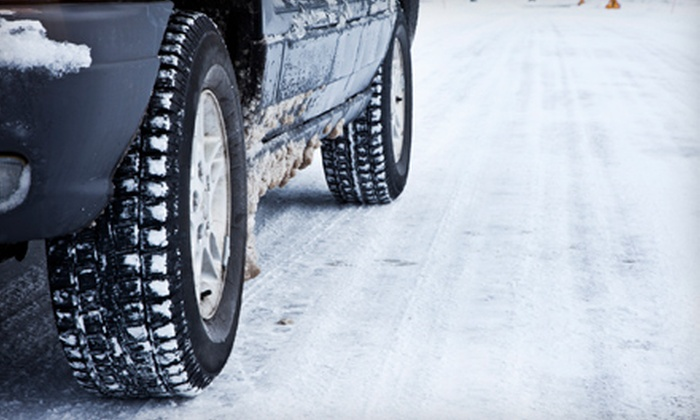 Brake King - Multiple Locations: Winterization Package, Pothole-Damage Repair, or SUV-4x4 Drivetrain Service at Brake King (Up to 51% Off)