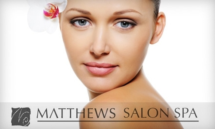Matthews SalonSpa - Multiple Locations: $30 for a 60-Minute Facial at Matthews SalonSpa ($60 Value)