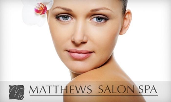 Matthews SalonSpa - Syracuse: $30 for a 60-Minute Facial at Matthews SalonSpa ($60 Value)