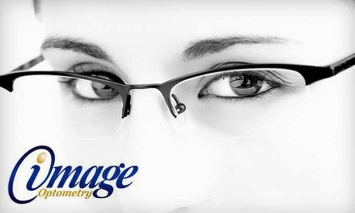 Image Optometry - Multiple Locations: $65 for an Eye Exam and $200 Towards Eyewear at Image Optometry ($285 Value). Valid at 14 Locations.