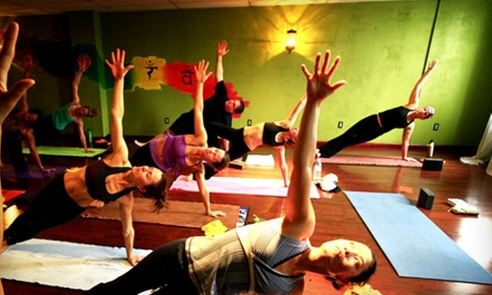 Yoga Flow - Multiple Locations: $45 for One Month of Unlimited Classes at Yoga Flow (Up to $95 Value)