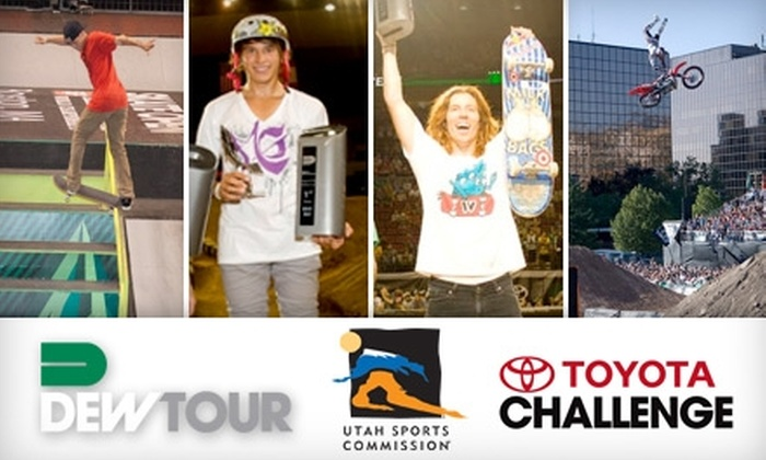 Dew Tour's Toyota Challenge - Rio Grande: Ticket to Dew Tour's Toyota Challenge, Featuring Skateboarding, BMX, FMX, and Utah's Neon Trees Live. Choose from Three Dates and Two Ticket Options.