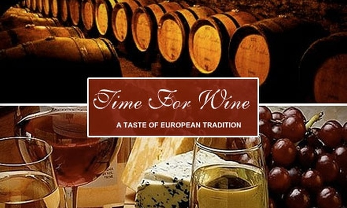 Time for Wine - East Lake-Orient Park: $20 for $40 Worth of Wine at Time for Wine