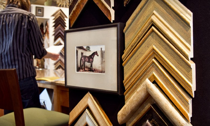 Frame Factory - Multiple Locations: $45 for $100 Worth of Custom Framing at Frame Factory