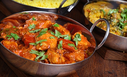 Dinner for Two (up to a $39.85 total value) - Narula's in Mississauga