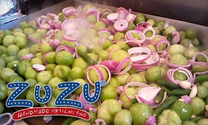 ZuZu Handmade Mexican Food - Allandale: $7 for $15 Worth Of Authentic Mexican Fare at ZuZu Handmade Mexican Food