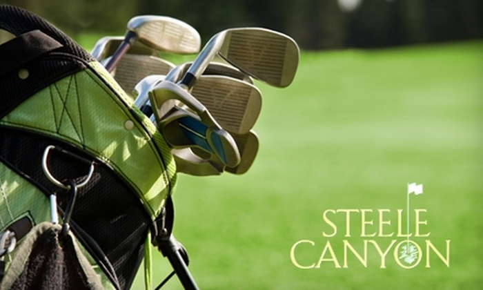 Steele Canyon Golf Club - Jamul: 18 Holes of Golf and Lunch for Two at Steele Canyon Golf Club (Up to $298 Value). Choose Between Two Options.