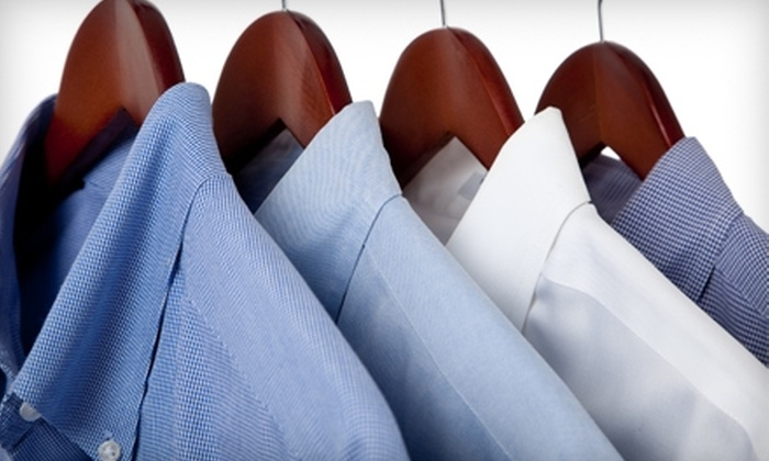 Aladdin Village Cleaners Inc. - Bowmansville: Dry Cleaning at Aladdin Village Cleaners Inc. in Lancaster. Two options available.
