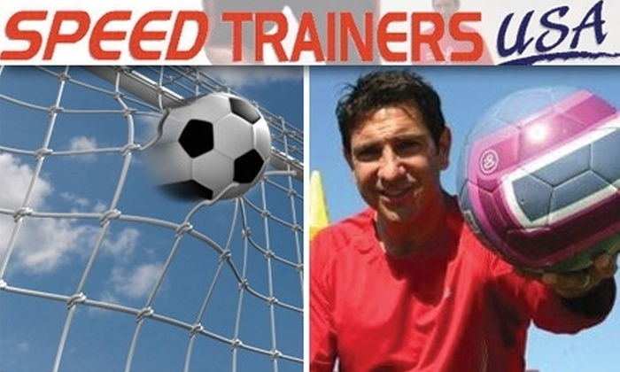 Speed Trainers USA - Multiple Locations: $30 for Three Soccer Boot-Camp Classes at Speed Trainers USA ($75 Value)