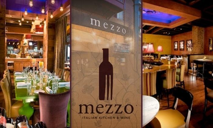 Mezzo - East Columbus: $15 for $30 Worth of Italian Cuisine and Fine Wine at Mezzo