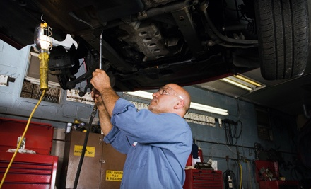 1 Oil Change and Filter With a Tire Rotation and Safety Inspection (a $20 value) - Brake King in Springfield