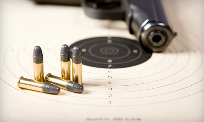 The Sound of Freedom USA - Ozark: Shooting Range and Gun-Rental Package or a One-Day Shooting Lane Rental for Two at The Sound of Freedom USA in Ozark (Up to 53% Off)