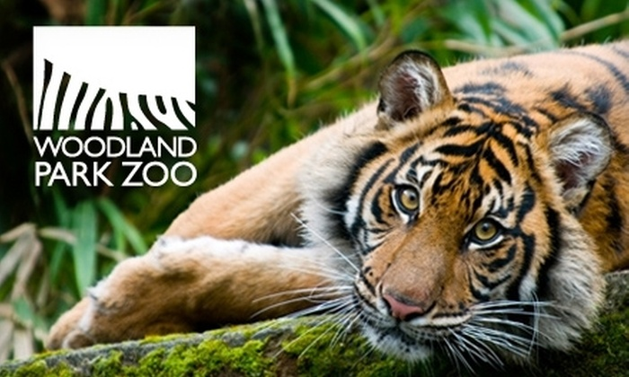 Woodland Park Zoo - Portland: $8 for an Adult Admission to Woodland Park Zoo (Up to $17.50 Value)