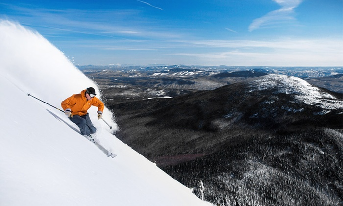 Sugarloaf Mountain - Carrabassett Valley: One- or Two-Night Packages for Two with Lift Tickets at Sugarloaf Mountain in Maine