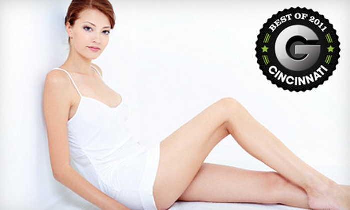 Cincinnati Institute of Plastic Surgery - Cincinnati: Six Laser Hair-Removal Treatments on a Small or Medium Area at Cincinnati Institute of Plastic Surgery (Up to 75% Off)