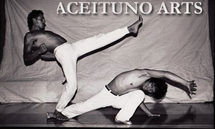 Aceituno Arts - Mission: $10 for Two Capoeira, Martial Arts, or Dance Classes at Aceituno Arts