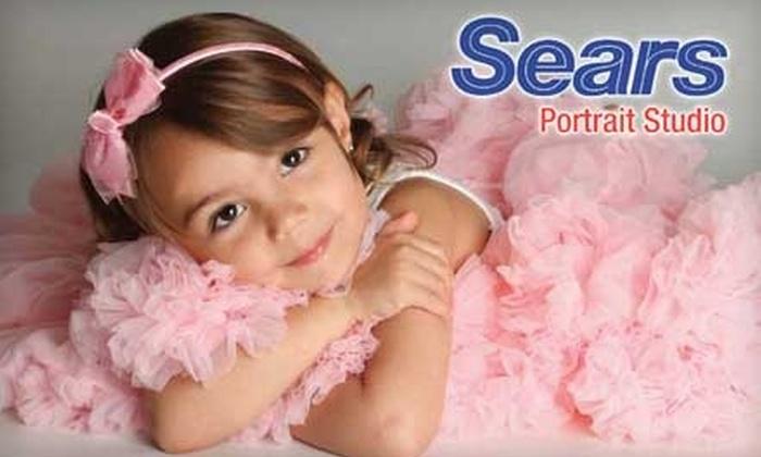 Sears Portrait Studio - Near North Side: $20 for a Portrait Bundle at Sears Portrait Studio