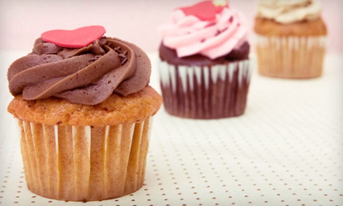 Sweet! - Uptown: $12 for Six Build-Your-Own Cupcakes at Sweet! in St. Petersburg ($25.50 Value)