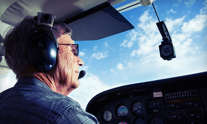 Noble AirVentures LLC - Stow: 30-Minute Scenic Flight or a Two-Hour Introductory Flight Experience from Noble AirVentures LLC (Up to 62% Off)