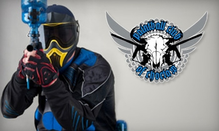Paintball Club of Choctaw - Choctaw: $20 for Admission, Equipment Rental, and Ammunition at Paintball Club of Choctaw ($40 Value)