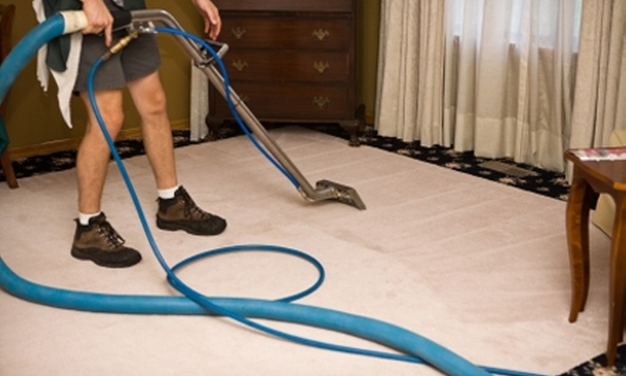 DADS Carpet Cleaning - Central Omaha: $45 for 300 Square Feet of Carpet Cleaning from DADS Carpet Cleaning ($90 Value)