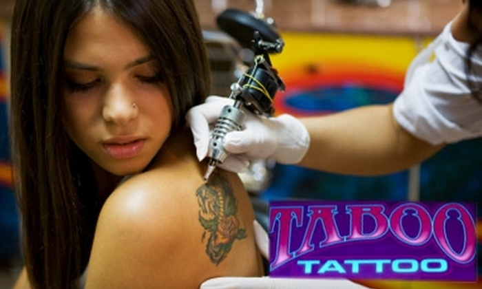 Taboo Tattoo Studio - East Dallas: $50 for One Hour of Tattoo Services at Taboo Tattoo ($100 Value)