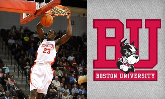 Boston University Men's Basketball - Allston: $20 for Four Tickets to a Boston University Men's Basketball Game at Agganis Arena (Up to $40 Value). Choose from Five Dates.