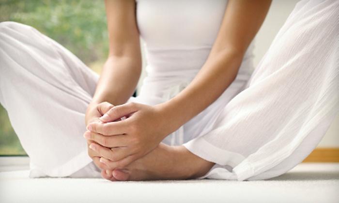 Maya Yoga - Kansas City: Five Yoga Classes or One Month of Unlimited Yoga Classes at Maya Yoga