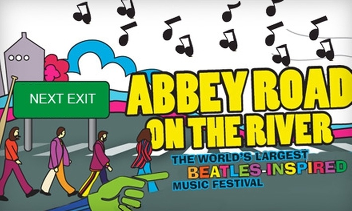 Abbey Road on the River - Central Business District: $35 for Single-Day Best Ticket at Abbey Road on the River Music Festival ($74.40 Value)