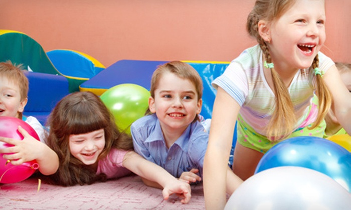 Jumpfit Kids - MacDonald Ranch: Two or Five All-Day Outings at Jumpfit Kids in Henderson (Up to 60% Off)