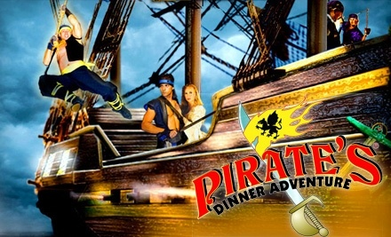 Pirate's Dinner Adventure: 1 Adult Ticket Plus a VIP Dine4Less Card - Pirate's Dinner Adventure in Orlando