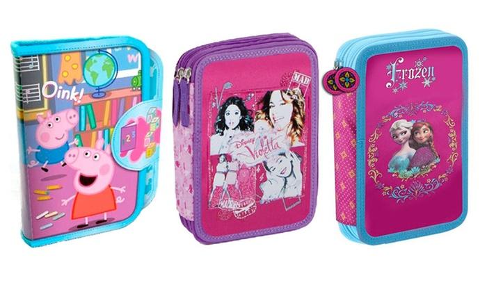 Astucci Scuola Peppa Pig E Disney Groupon Goods