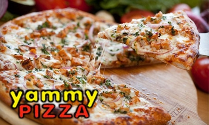 Yammy Pizza - Hollywood: $10 for $20 Worth Pizza, Pasta, and Drinks at Yammy Pizza