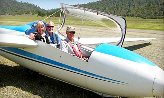 Crazy Creek Air Adventures - Hidden Valley Lake: $103 for a Two-Person Glider Plane Ride from Crazy Creek Air Adventures in Middletown ($189 Value)