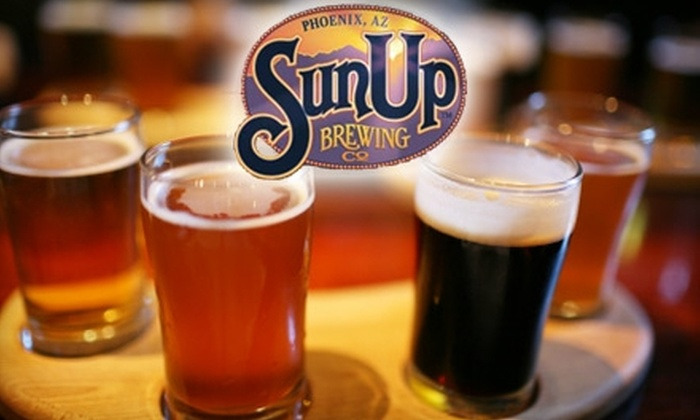 Sun Up Brewing Co.  - Windsor Square: $10 for $20 Worth of Tasty Bar Fare and Drinks at Sun Up Brewing Co.