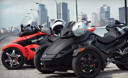 24-Hour Spyder Rental on a Weekday (a $200 value) - Recreational Rentals, Inc. in Sacramento