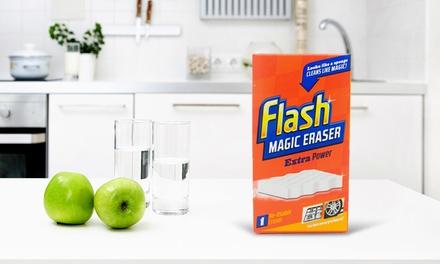 flash magic eraser sponges groupon goods. Black Bedroom Furniture Sets. Home Design Ideas