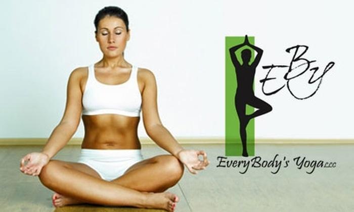 Every Body's Yoga - Ashwaubenon: $30 for 10 Classes at Every Body's Yoga