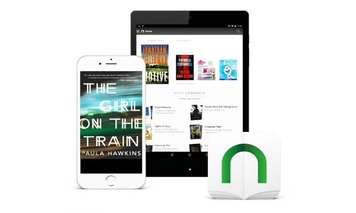 NOOK by Barnes and Noble: $5 for $10 Worth of eBooks, Newspapers, Magazines, and Comics from NOOK by Barnes & Noble