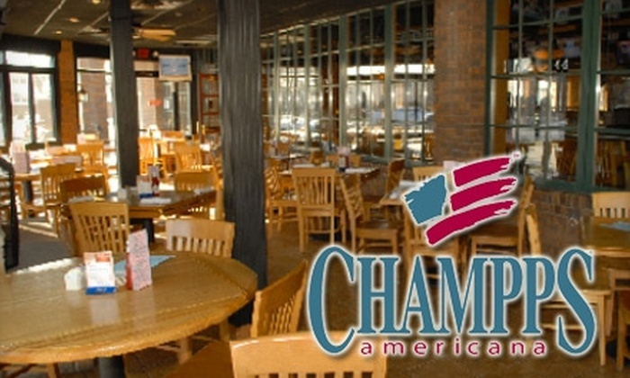 Champps Americana - Highland: $10 for $20 Worth of Casual American Fare and Drinks at Champps Americana in St. Paul